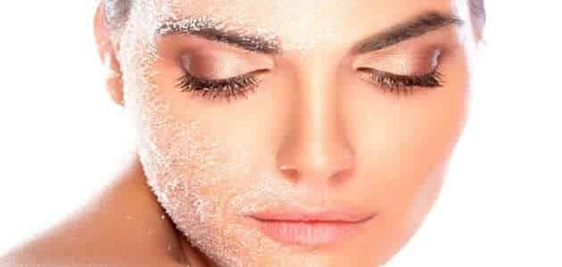 علاج تقشير الوجه من الشمس طبيعياً
