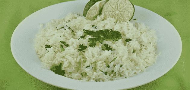كم سعرة حرارية في الأرز