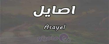 معنى اسم اصايل Asayel وشخصيتها حسب علم النفس