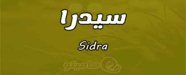 معنى اسم سيدرا Sidra وصفات حاملة الاسم