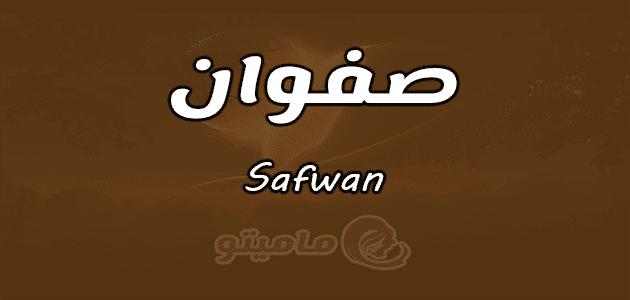 معنى اسم صفوان Safwan حسب علم النفس