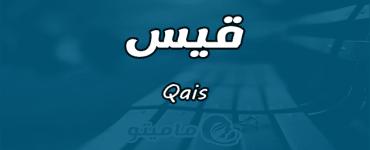 معنى اسم قيس Qais وصفات حامل الاسم