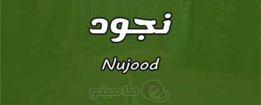معنى اسم نجود Nujood وشخصيتها وصفاتها