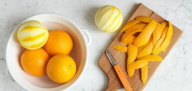 اهم فوائد قشر البرتقال للأسنان
