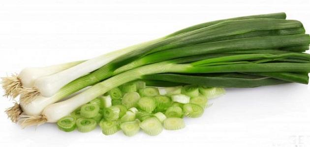 استخدامات البصل الاخضر في الطبخ لطعام لذيذ وصحي