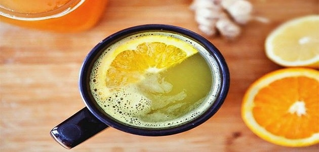 الليمون الساخن لعلاج نزلات البرد والانفلونزا على الفور