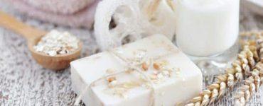 خلطة صابونة دوف مع الحليب لتبييض الجسم