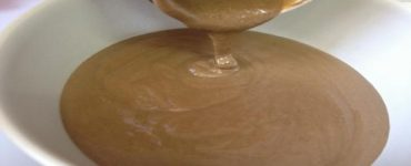 طريقة بسيطة لعمل طحينة التمرالسائلة بالفول السوداني
