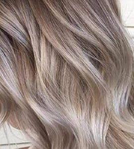 طريقة جديدة لصبغ الشعر لون أشقر رمادي الجديد