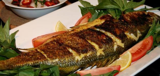 طريقة عمل سمك طرباني بتتبيله علي الطريقة المصرية