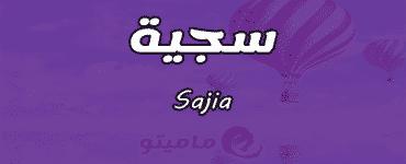 معنى اسم سجية Sajia في علم النفس