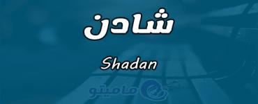 معنى اسم شادن Shadan في علم النفس