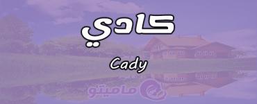 معنى اسم كادي Cady وصفات حامل الاسم