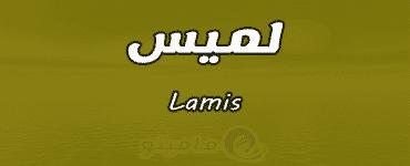 معنى اسم لميس Lamis واسرار شخصيتها وصفاتها
