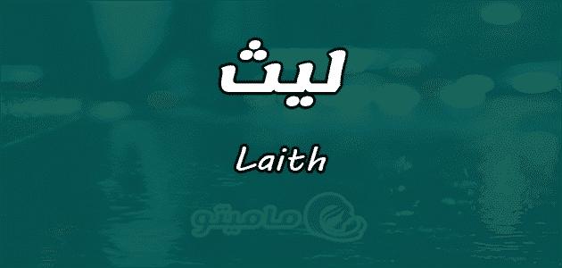 معنى اسم ليث Laith وصفات حامل الاسم