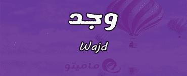 معنى اسم وجد Wajd حسب علم النفس