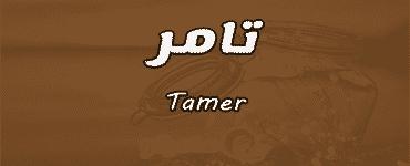 معني اسم تامر Tamer وصفات حامل الاسم