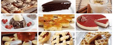 اشهر واسهل 10 حلويات بدون فرن