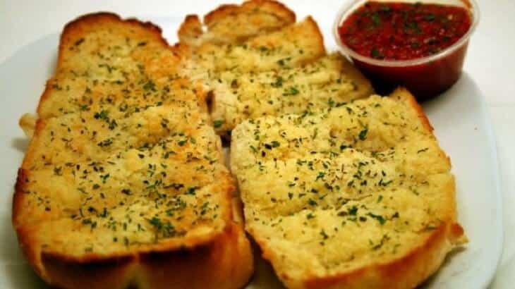 طريقة تحضير خبز بالثوم والزعتر