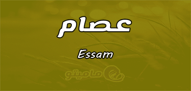 معنى اسم عصام Essam وصفات حامل الاسم