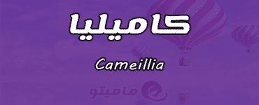 معنى اسم كاميليا Cameillia حسب علم النفس