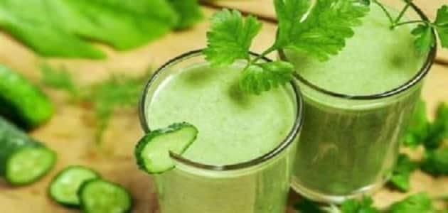 10 فوائد للعصير الاخضر للتخسيس الصحي واهم تجاربه