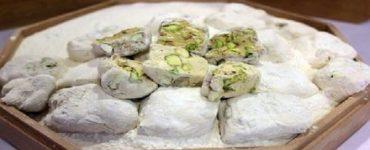 طريقة عمل حلوى المن والسلوي بالمارشميلو بالتفصيل