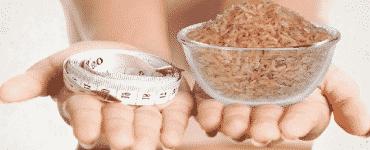فوائد واضرار الأرز البني لانقاص الوزن