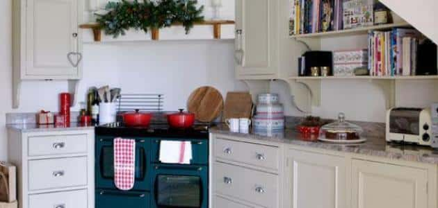 افكار لتزيين الحمام والمطبخ