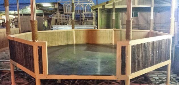طريقة بناء غرفة من الخشب
