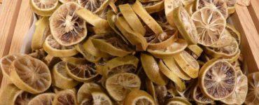 طريقة تجفيف الليمون الاصفر