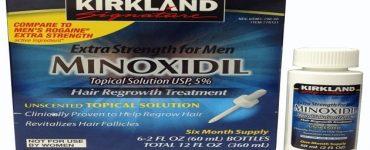 فوائد لدواء مينوكسديل لتساقط الشعر الغزير