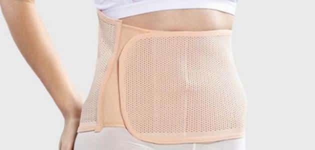 فوائد واضرار حزام البطن بعد الولادة مباشرة