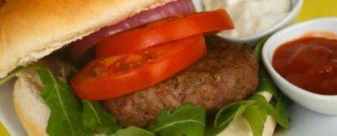 همبرجر لحم عراقي