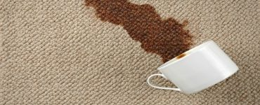 كيفية ازالة بقع الشاي عن السجاد