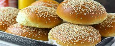 خبز الهمبرغر
