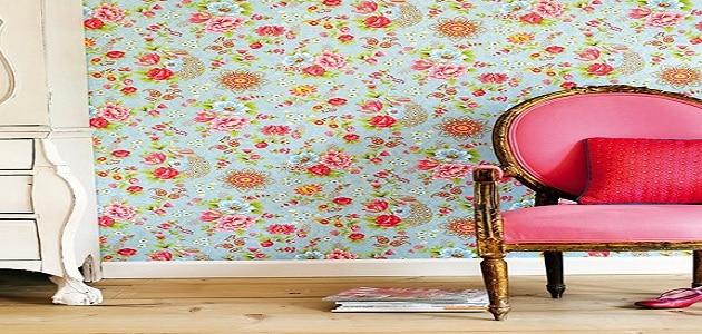 كيف ازيل غراء ورق الجدران