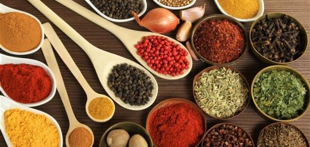 أنواع البهارات الأكثر استخداماً للطبخ