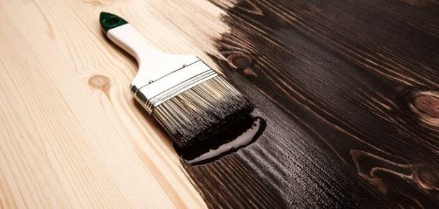 طريقة دهان الخشب الأستر