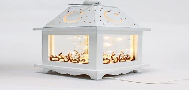 طريقة عمل فانوس رمضان بالخشب