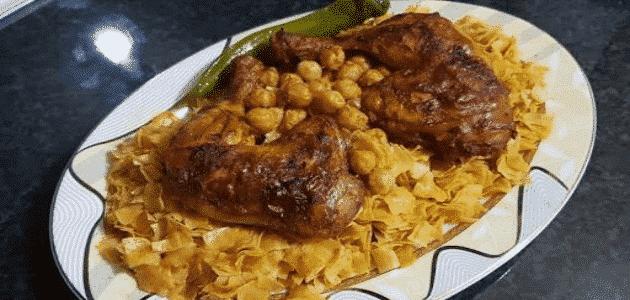 كيفية طبخ التريدة خطوة بخطوة