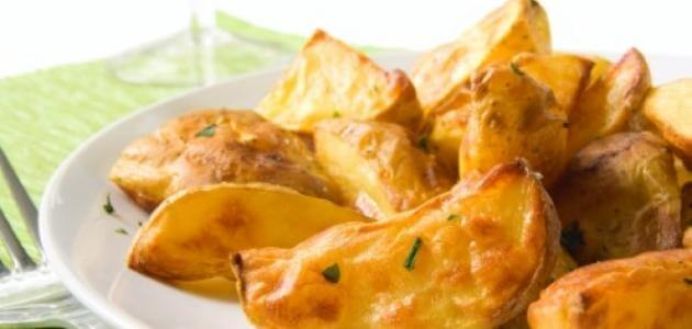 كيفية عمل بطاطا ودجز المقلية بالجبن