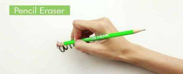 كيف أزيل وانظف أثر قلم الرصاص من الجدار