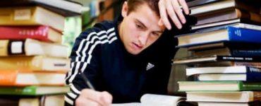 مشكلة قلق الامتحان