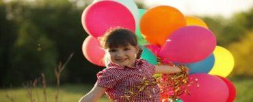 وصف فرحة الاطفال بالعيد