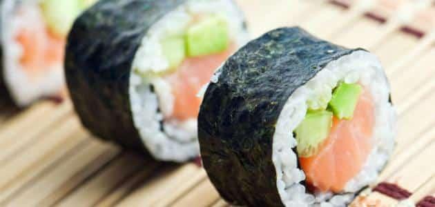 أنواع السوشي