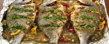 طبخ السمك