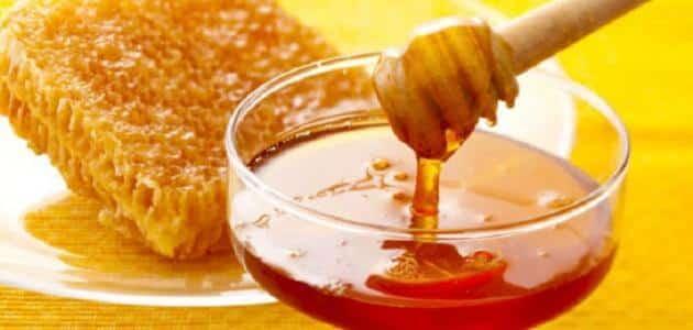 فوائد العسل للاطفال على الريق