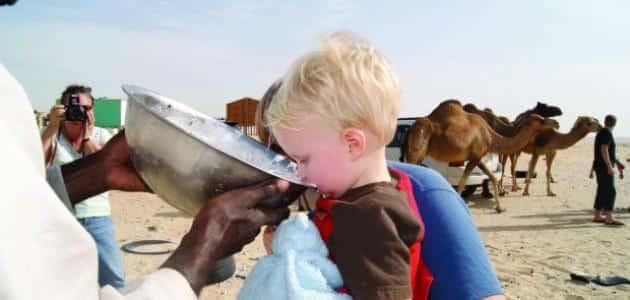ما فوائد حليب الإبل للأطفال