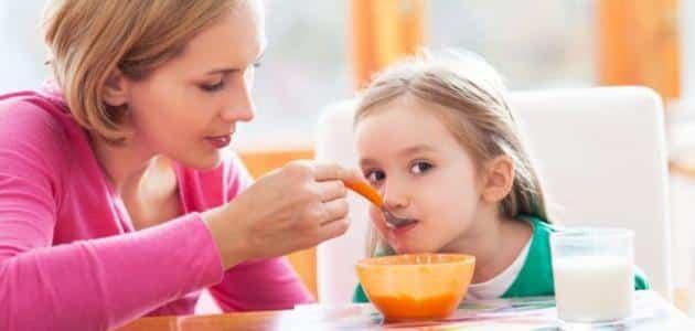 معلومات مهمة عن تغذية الأطفال